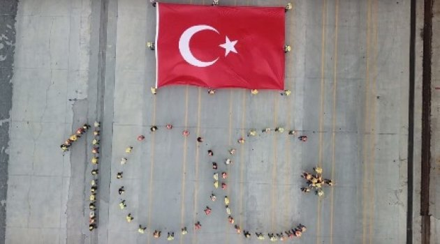 ASYAPORT'TAN 100'ÜNCÜ YIL KAREOGRAFİSİ