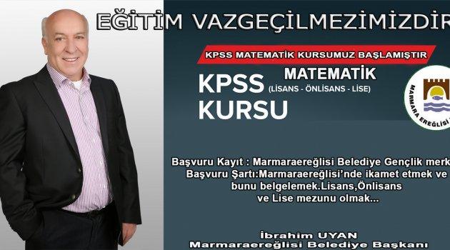 KPSS'YE HAZIRLANANLARA ÜCRETSİZ MATEMATİK KURSU